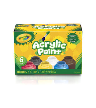 crayola Acrylic Paint Set