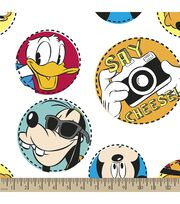 Disney® Mickey Mouse Print Fabric-Say Cheese, , hi-res