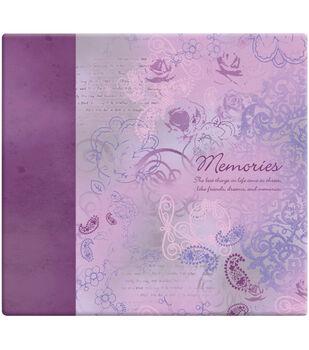 MBI 12''x12'' Postbound Album-Memories