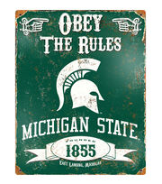 Michigan State University NCAA Vintage Sign, , hi-res
