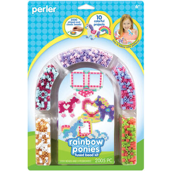Perler Beads Rainbow Pony Activity Kit