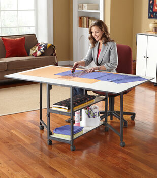 Adjustable Home Hobby Table Double Wall