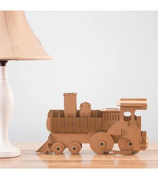 DCWV DIY Décor 3D Train