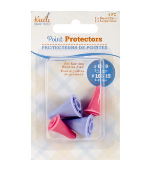Needlecrafters Point Protectors 4/Pkg-2 Small & 2 Large