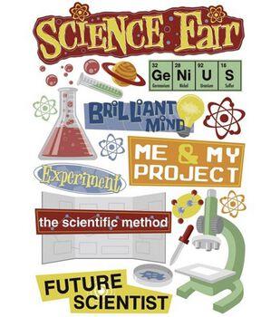 Karen Foster School Days Cardstock Stickers-Science