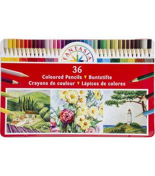 Fantasia Color Pencil Tin 36/Pkg