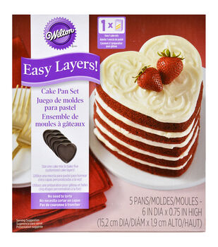 Wilton® Easy Layers! Cake Pan-Heart