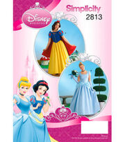 Simplicity Pattern 2813-Disney Princess Costumes for Misses, , hi-res