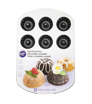 Wilton® Mini Fluted Muffin Pan-Classics
