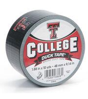 Duck Tape College Logo Texas Tech, , hi-res