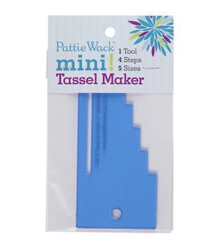 Pattiewack Designs 5.5''x2.5'' Mini Tassel Maker