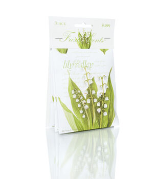 Hudson 43™ Candle&Light Collection 3 Pack Lily Valley Sachet