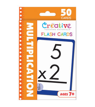 Creative Teaching Materials 50ct Flash Cards-Multiplication