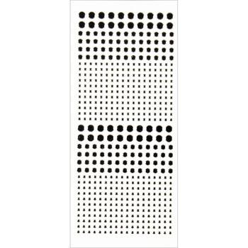 Hot Off The Press Dazzles Stickers 540 Black Jewel