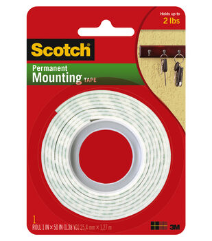 Scotch Mounting Tape-1 inch