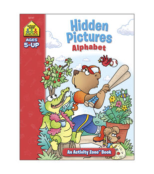 Activity Workbooks 32 Pages-Hidden Pictures Alphabet Ages 5+