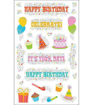 Mrs. Grossman's Stickers-Birthday Party