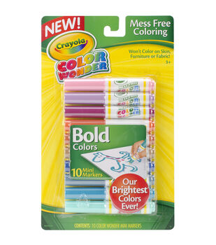 crayola Color Wonder Mini Markers Bold
