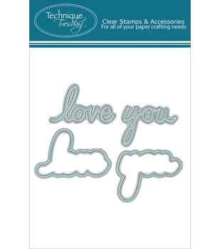 Technique Tuesday Say It 2 - Love You DIY Dies