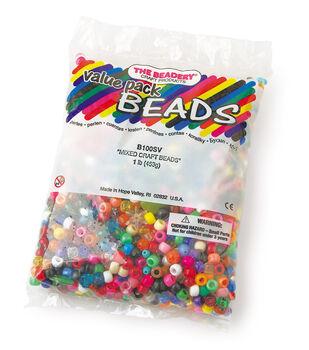 1 Lb Bag Mixed Beads