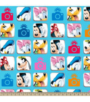 Disney® Mickey and Friends Camera Fleece Fabric, , hi-res