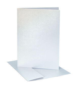 Core'dinations Card/Envelopes:  A7 White Pearl; 25 pack