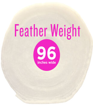 """Poly-Fil® Feather-Weight Batting 96"""" wide x 30 yard Roll"""