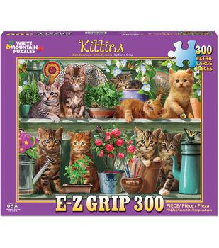 White Mountain Puzzles 300 Pieces 24''x30'' Jigsaw Puzzle-Kitties
