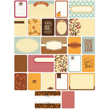 Project Life Themed Cards 60/Pkg-Fall