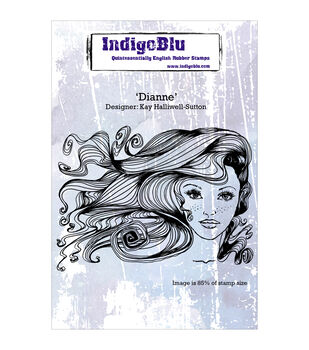 Indigoblu Dianne Cling Mounted Stamp