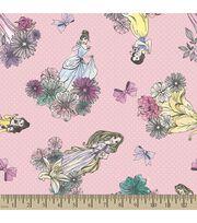 Disney® Princess Print Fabric-Princesses, , hi-res