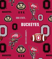 Ohio State University NCAA  Soft n Comfy Fabric, , hi-res