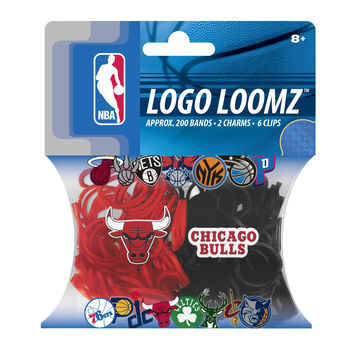 Forever Collectibles Logo Loomz Filler Pack Chicago Bulls