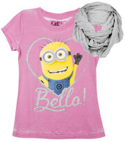 Minions Bello Shirt with Scarf, , hi-res