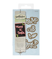 Spellbinders® Shapeabilities Die D-Lites-Merry & Bright, , hi-res