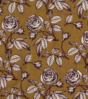 Keepsake Calico™ Cotton Fabric-Floral Gold, , hi-res