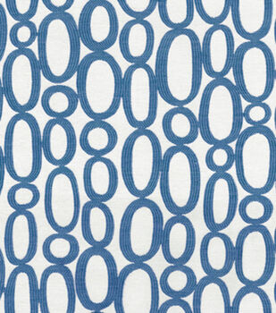 Upholstery Fabric-HGTV HOME Looped Azure