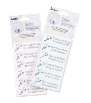 Darice® Thank You Tags-Pink