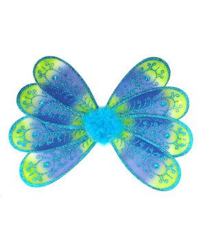 Maker's Halloween Children's Wings-Peacock
