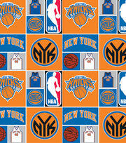 New York Knicks NBA  Cotton Fabric, , hi-res