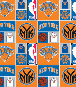 New York Knicks NBA  Cotton Fabric