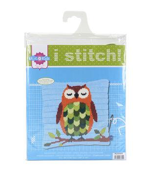 Vervaco Cushion Longstitch Kit-Owl At Night