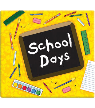 MBI 12''x12'' Postbound Album-School Days