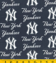 New York Yankees MLB Allover Cotton Fabric, , hi-res
