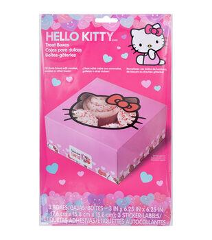 Wilton® Cupcake Boxes-Hello Kitty 4 Cavity 3/Pkg