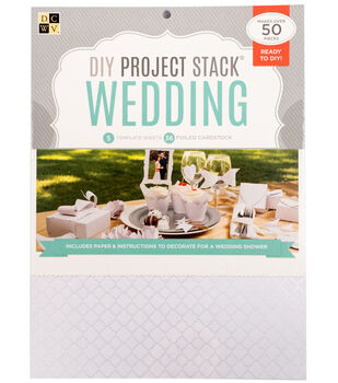 "DCWV 8-1/2""x11"" DIY Project Stack: Wedding"