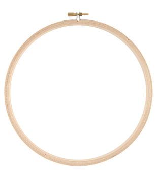 """Wood Hoop 8"""""""