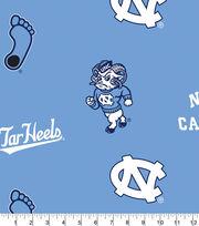 University of North Carolina NCAA  Fleece Fabric, , hi-res