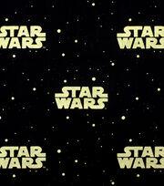 Star Wars™ Metallic Logo Cotton Fabric, , hi-res