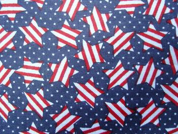 Patriotic Stripes N Stars